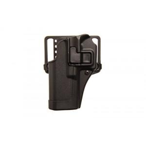 "Blackhawk CQC Serpa Left-Hand Belt Holster for CZ USA CZ75, 75B, 75 SP01, 85B in Matte Black (4.6"") - 410562BK-L"