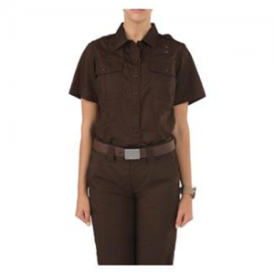 5.11 Tactical PDU Class A Men's Uniform Shirt in Brown - Large