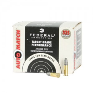 Federal Cartridge Champion .22 Long Rifle Solid, 40 Grain (325 Rounds) - AM22