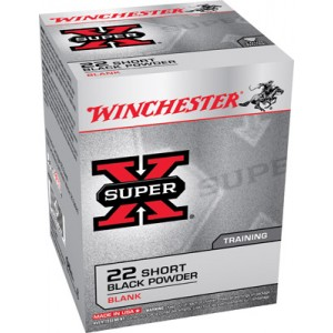 Winchester 22 Super X Short Blanks 50 Count Box X22SB
