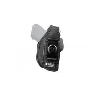 Tagua Niph4 Nylon 4 In 1 Inside The Pant Holster, Fits Glock 26/27/33, Right Hand, Black Nylon Niph4-330 - NIPH4-330