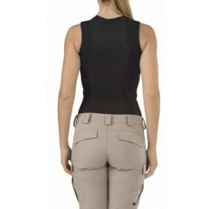 5.11 Tactical Sleeveless Women's Holster Shirt in Black - Medium