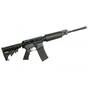 "CMMG AR-15 MkLE .223 Remington/5.56 NATO 30-Round 16"" Semi-Automatic Rifle in Black - 55AE124"