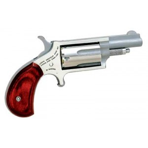 """North American Arms Mini-Revolver .22 Winchester Magnum 5-Shot 1.625"""" Revolver in Stainless - NAA-22MR"""