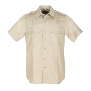 5.11 Tactical PDU Class A Women's Uniform Shirt in Silver Tan - Large