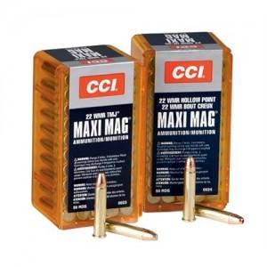 CCI 22 Winchester Magnum Rimfire 40 Grain Lead Round Nose, 50 Round Box, 0023