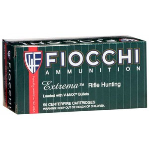 Fiocchi Ammunition Extrema Hunting .204 Ruger V-Max Polymer Tip, 40 Grain (50 Rounds) - 204HVB