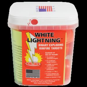 Tannerite WLK White Lightning .22 Rimfire Exploding Targets 15 Pack/6 Case