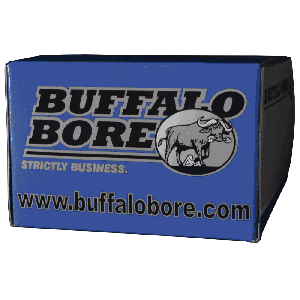 Buffalo Bore Ammunition .45 ACP Hard Cast Flat Nose, 255 Grain (20 Rounds) - 45/255