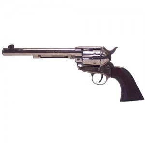 "Heritage Rough Rider .45 Long Colt 6-Shot 7.5"" Revolver in Nickel - RR45N7"