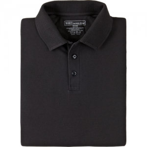 5.11 Tactical Professional Men's Short Sleeve Polo in Black - Large