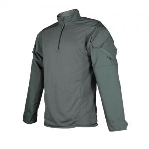 Tru Spec Regular 1/4 Zip Long Sleeve X-Large in Olive Drab - TRU Urban Force Combat Shirt