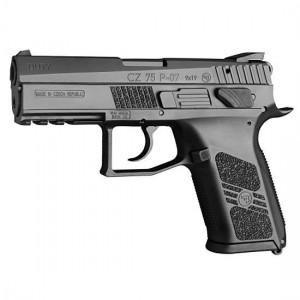 """CZ P-07 9mm 16+1 3.8"""" Pistol in Black - 91186"""