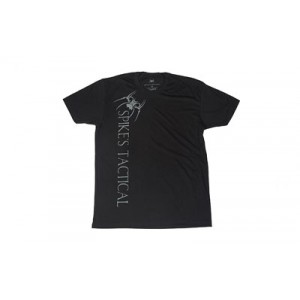 Spike's Tactical Vertical Spike's Tactical w/ Spider Men's T-Shirt in Black - X-Large