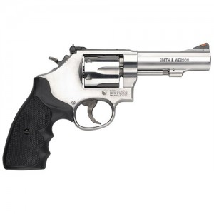 "Smith & Wesson 67 .38 Special 6-Shot 4"" Revolver in Stainless (Combat Masterpiece) - 162802"