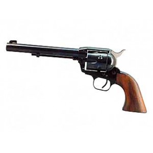 """EAA Bounty Hunter .22 Long Rifle/.22 Winchester Magnum 6-Shot 6.75"""" Revolver in Blued - 770100"""