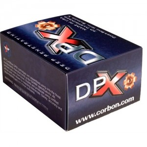 Corbon Ammunition DPX .45 Glock Deep Penetrating X Bullet, 160 Grain (20 Rounds) - DPX45GAP160