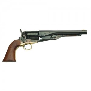 "Traditions 44 Cal/Brass Frame/8"" Round Blued Barrel & Walnut Grips FR18601"