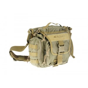 Drago Gear Officer Shoulder Bag in Tan 840D Nylon - 15302TN