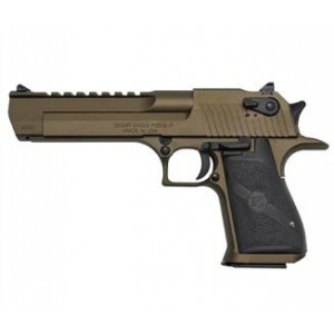 "Magnum Research Desert Eagle .44 Remington Magnum 8+1 6"" Pistol in Burnt Bronze Ceracote - DE44BB"