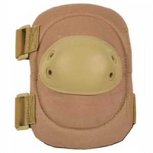 Hell Storm Tactical Elbow Pad  Tactl Elbow Pad w/ Talon-Flex Cap Coyote Tan Substantial protection in a lightweight, durable package Non-slip, flexible, molded polyurethane cap 600 Denier nylon shell New contoured interior ledge prevents pad from  slippin