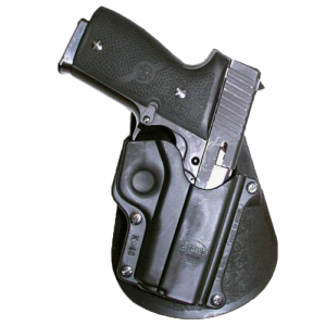 Fobus USA Paddle Right-Hand Paddle Holster for Kahr Arms K40 in Black - KA1