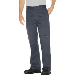 Dickies Double Knee Work Pant Men's Uniform Pants in Charcoal - 32 x 30