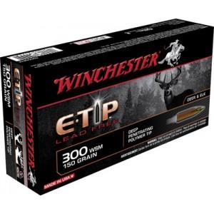Winchester Supreme .300 Winchester Short Magnum E-Tip Lead-Free, 150 Grain (20 Rounds) - S300SETA