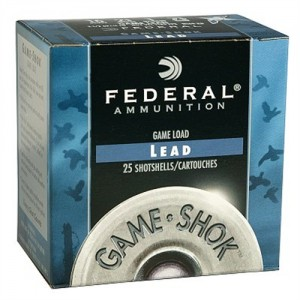 "Federal Cartridge Game-Shok Heavy Field .20 Gauge (2.75"") 7.5 Shot Lead (250-Rounds) - H20275"