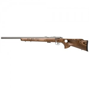 """Savage Arms 93R17 BTVLSS .17 HMR 5-Round 21"""" Bolt Action Rifle in Stainless Steel - 96210"""