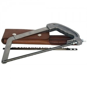 Wyoming Stainless Steel Saw With Wood & Bone Blades WSSP