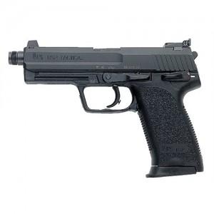 "Heckler & Koch (HK) USP40T .40 S&W 13+1 4.9"" Pistol in Blued (Tactical V1) - M704001TA5"