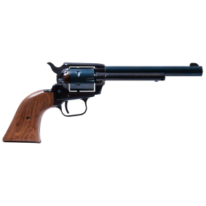 """Heritage Rough Rider Small Bore .22 Long Rifle/.22 Winchester Magnum 6-Shot 6.5"""" Revolver in Blued - R22MB6BX"""