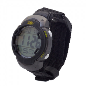 UZI Gaurdian Digital Watch, 5ATM, Alarm Chrono, Back Glow, Stainless Steel Caseback, Nylon Strap
