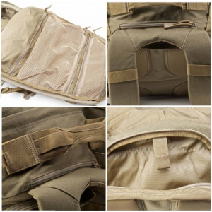 5.11 Tactical RUSH 72 Waterproof Backpack in Sandstone - 58602