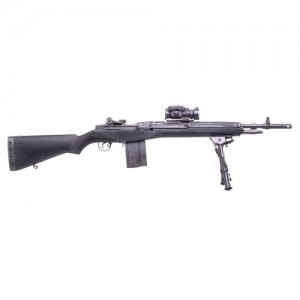 "Springfield M1A Scout Squad .308 Winchester 10-Round 18"" Semi-Automatic Rifle in Black - AA9126"