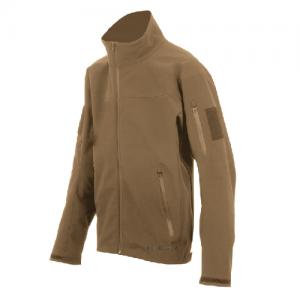 Tru Spec 24-7 Softshell Men's Full Zip Jacket in Coyote - Large