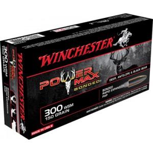 Winchester Super-X .300 Winchester Short Magnum Power Max Bonded, 150 Grain (20 Rounds) - X300SBP