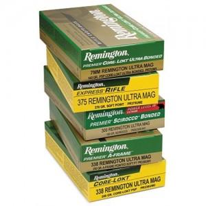 Remington .300 Remington Ultra Magnum Core-Lokt Pointed Soft Point, 150 Grain (20 Rounds) - R300UM1P1