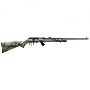 """Savage Arms Mark II Camo .22 Long Rifle 10-Round 20.75"""" Bolt Action Rifle in Blued - 26800"""