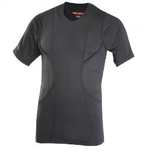 Tru Spec 24-7 Men's Holster Shirt in Black - Medium
