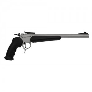 "Thompson Center Contender Pistol .17 HMR 1+1 14"" Pistol in Stainless - 3209"
