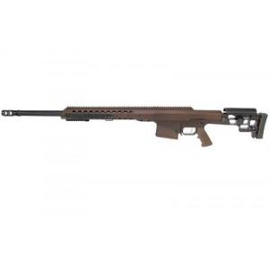 "Barrett Firearms Mrad .338 Lapua Magnum 10-Round 24.5"" Bolt Action Rifle in Multi-Role Brown - 13609"