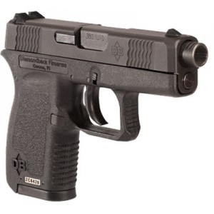 "Diamondback Extended Compensated Barrel .380 ACP 6+1 3.1"" Pistol in Black - DB380C"