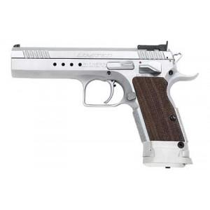 """EAA Witness 10mm 15+1 4.75"""" Pistol in Chrome - 600343"""