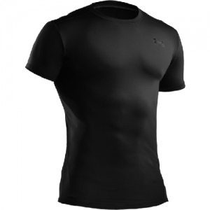 Under Armour HeatGear Men's Undershirt in Black - 3X-Large