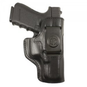 "Desantis Gunhide Inside Heat Right-Hand Belt Holster for 1911 Officer's in Black (3.5"") - 127BA19Z0"