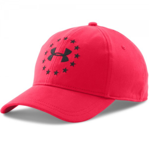 Under Armour Freedom Cap in Red/Black - One Size Fits Most