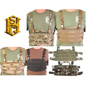 AO Chest Rig Color: Olive Drab