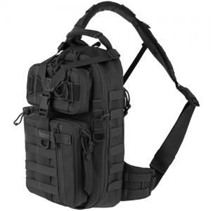 Maxpedition Sitka Gearslinger Waterproof Sling Backpack in Black 1000D Nylon - 0431B
